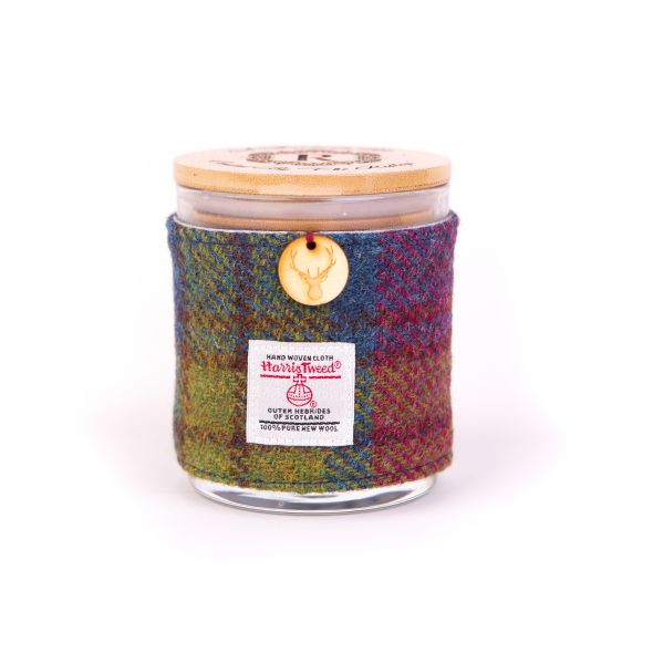Harris Tweed Candle | Plum