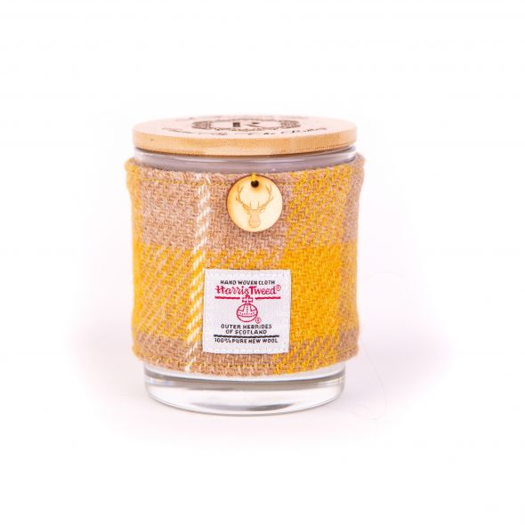 Harris Tweed Candle | Yellow