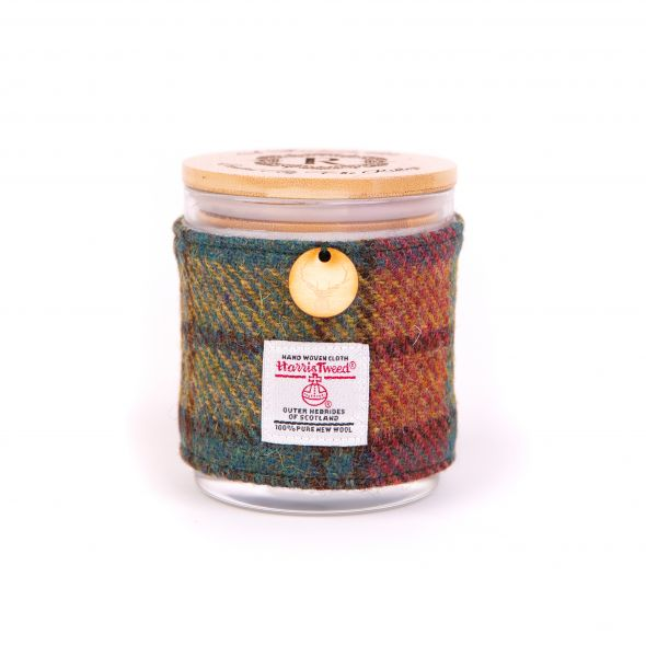 Harris Tweed Candle | Brown