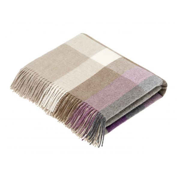 Bronte By Moon Throw | Harley Stripe Clover