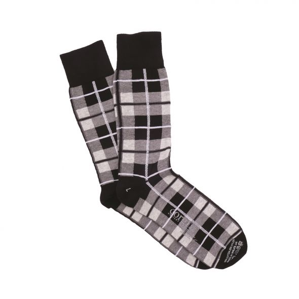 Men's Cotton Socks | Grey Douglas