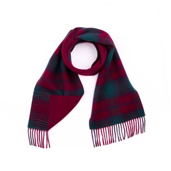 Double Faced Lambswool Scarf | Lindsay