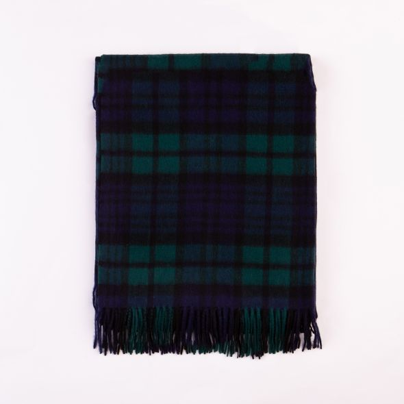 Lambswool Throw | Blackwatch