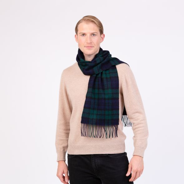 Lambswool Scarf | Blackwatch