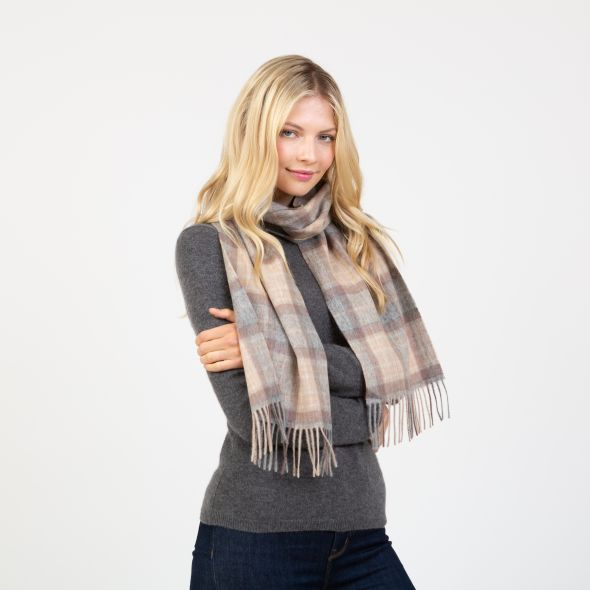 Lambswool Scarf | Mackellar Natural