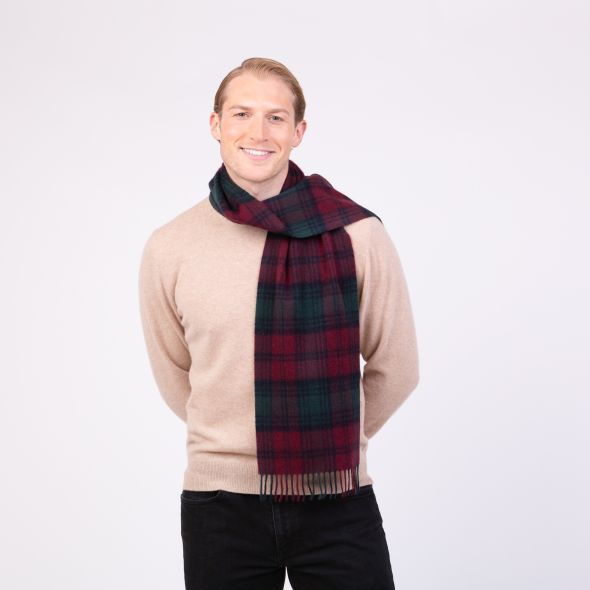 Made In Scotland Cashmere Scarf | Lindsay