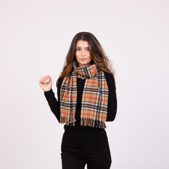 Made In Scotland Cashmere Scarf | Official Scotty Thompson