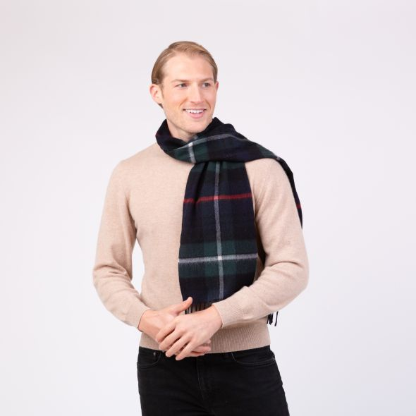 Made In Scotland Cashmere Scarf | Exploded Mackenzie