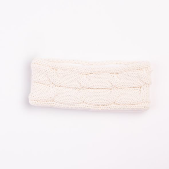 Cable Knit Headband | Cream