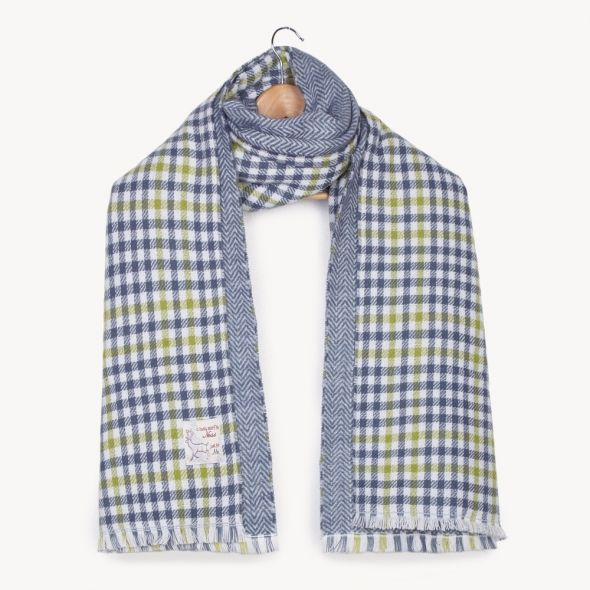 Haymarket Double Sided Stole | Grey