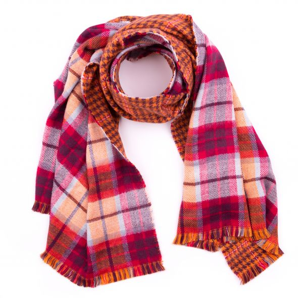Haymarket Double Sided Stole | Melrose