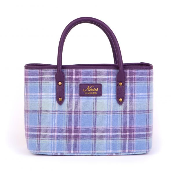 Beauly Tweed Tote | Heather