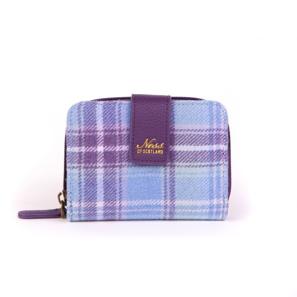 Birnam Small Purse | Heather