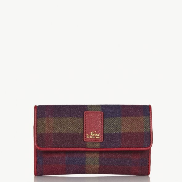 Dunkeld Purse | Morningside Oversize Check
