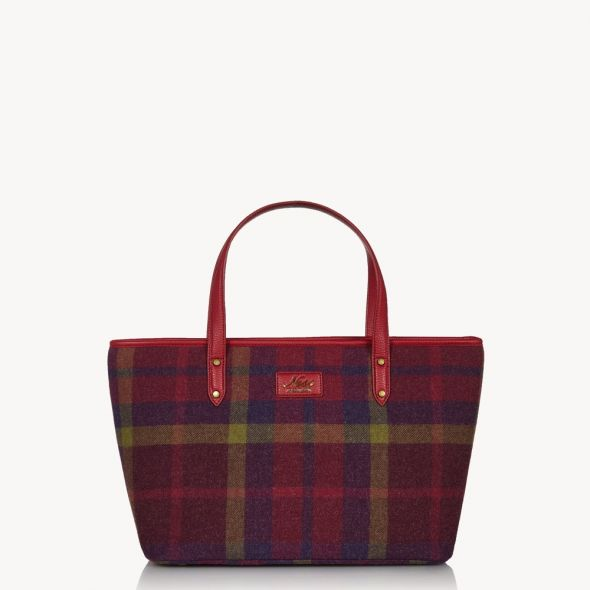 Strathy Tweed Tote | Morningside Oversize Check