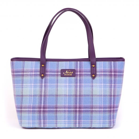 Strathy Tweed Tote | Heather