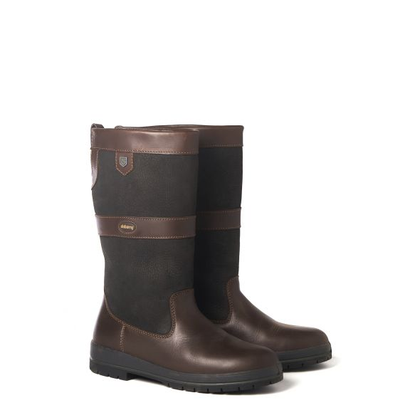 Dubarry Kildare Country Boot | Black/Brwn