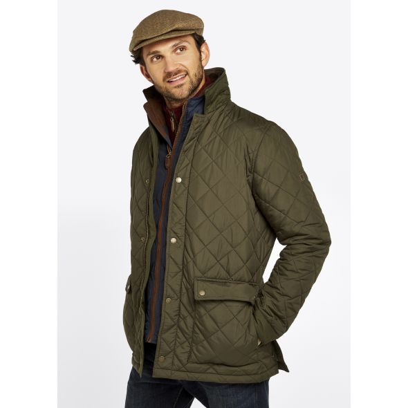 Dubarry Adare Quilted Jacket | Olive