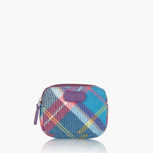 Lucky Purse | Fresh Bluebell Check