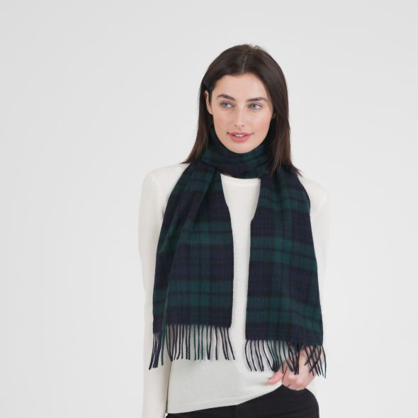 Cashmere Scarf | Blackwatch