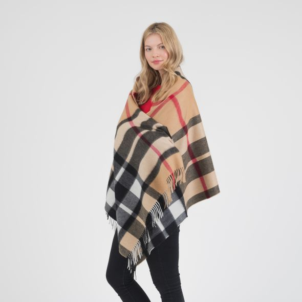 Cashmere Stole | Exploded Camel Thompson