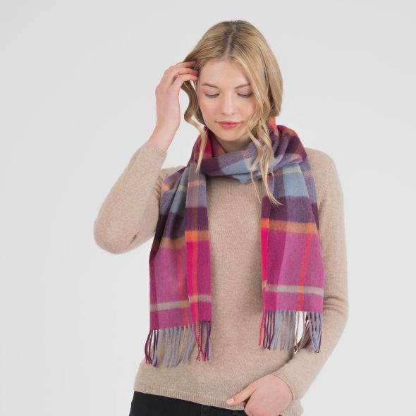 Cashmere Scarf | Colourful Exploded Scotty Thompson